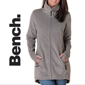 Bench Returning Fleece Zip Up Funnel Neck Sweater
